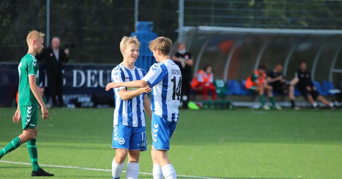 Hansborg og Juel på U16-landsholdet